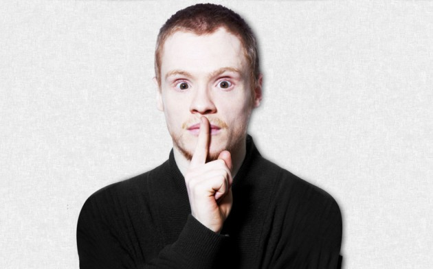 Andrew Lawrence accused political parties of being 'too spineless' to tackle immigration (Picture: andrewlawrencecomedy.co.uk)