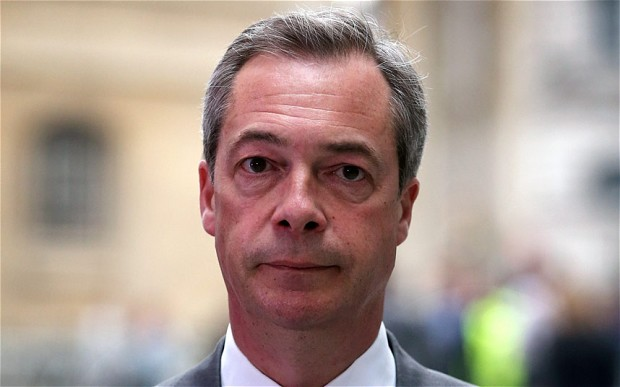 FARAGE LOOKING DOWN